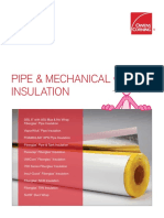 10020231 Pipe and Mechanical Insulation Brochure