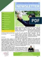 27 Newsletter 28th April 2017