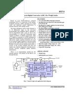 HX711 Avia Semiconductor