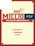 SUMMARY Manajemen Chapter 17