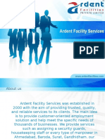 Housekeeping, Security Guards, Manpower Services From Ardent Facility