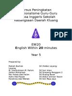 Modul EW20 Year 5.doc