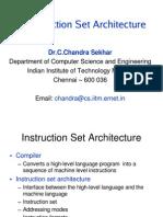 Instruction Set Architecture Feb2008
