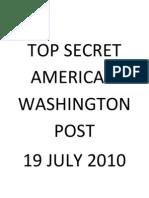 Top Secret America -Washington Post Expose