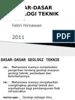 Dasar Geologi Teknik 2011 q10a.212