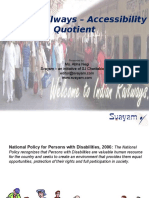424-Presn India Railways Accessibility Quotient