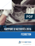 2016 Rapport d Activités Fedbeton