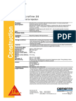 Sika Microfine 20 UK PDS