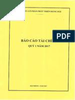 Bao Cao Tai Chinh Quy 1-2017 (Toàn Công Ty)
