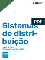 Tabela Precos - Geberit 2015 - Sistemas distribuição.pdf