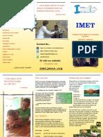 IMET Brochure