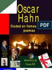 CIUDAD EN LLAMAS Y OTROS POEMAS, POR OSCAR HAHN
