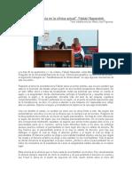 Naparsteck, F. (2016) Transferencia en La Clínica Actual