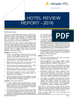2016 India Hotel Review Report