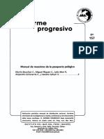Manual de Muestreo de La Pesqueria Pelagica, Imarpe.