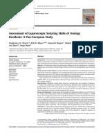 Assessment of Laparoscopic Suturing Skills of Urology Residents - A Pan-European Study