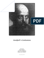 Gurdjieff´s Confessions