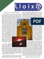 LLOIXA. Número 106, març /marzo 2008. Butlletí informatiu de Sant Joan. Boletín informativo de Sant Joan. Autor