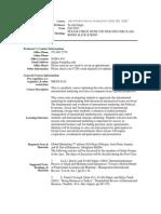 UT Dallas Syllabus for ims6310.501.10f taught by Tevfik Dalgic (tdalgic)