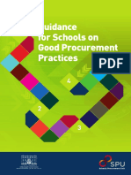Guidance for Schools on Good Procurement Practices
