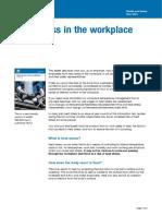 Heat Stress at Workplace