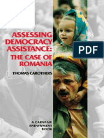 Assessing U.S. Democracy Assistance