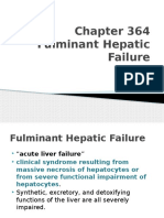 NELSONS 20th Ed Chapter 364 Fulminant Hepatic Failure