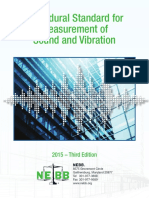 NEBB Sound-And-Vibration Procedural Standard LATEST