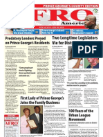 Prince George's County Afro-American Newspaper, July 24, 2010