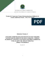 MonicaRocha- Analise Comparativa Do Estatuto Das Cidades Lei de Parcelamento Do Solo Urbano Codigo Florestal PNMA Com as APPs de Areas Urbanas BA PE