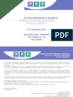 Psicoterapia e Ricerca - Forum 2017 Riccione