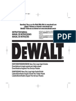 Esmeril Dewalt 28474