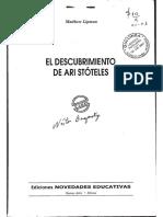 6.El Descubrimiento de Ari Stóteles