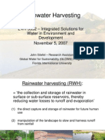 Rainwater Harvesting - Global Water for Sustainability