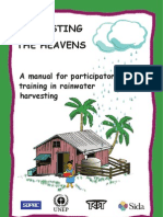 A manual for participatory training in rainwater harvesting - Fiji Islands