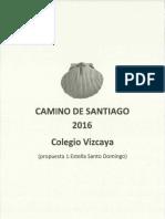 Programa Etapas Cmno. Santiago 1