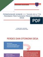 Pedoman Penyusunan Produk Hukum Desa Pak Gani [Compatibility Mode]