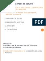 Percepción Atención y Memoria (diapositivas)