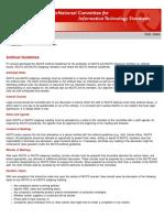 Eb-2013-00001 Reminder INCITS Anti Trust Guidelines