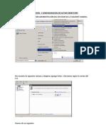 Instalacion y Configuracion de Active Directory