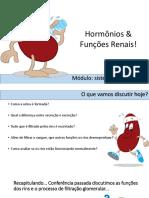 Hormonios e Funcao Renal