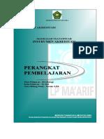 Cover Standar Penilaian