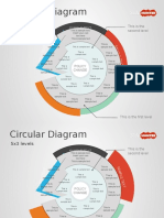 1264 5x3 Circular Diagram for Powerpoint