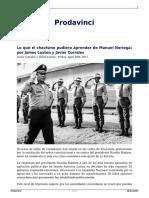 Lo Que El Chavismo Pudiera Aprender de Manuel Noriega Por Javier Corrales y James Loxton