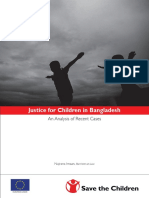 Justice for Children in Bangladesh