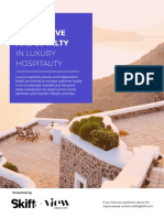 SkiftILTM Building Brand Love and Loyalty in Luxury Hospitality