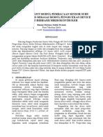 Rancang Bangun Pembacaan Sensor Suhu Dengan Sd Card Sebagai Penyimpan Data Berbasis Mikrokontroler Atmega128_final