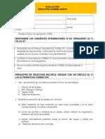 Evaluación de Inducción Hombre Nuevo Lgp Ago. 16