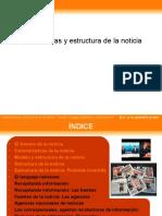 Caracteristicas y Estructura de La Noticia