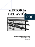 Historia del Avión